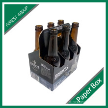 Fabrik Benutzerdefinierte Gedruckte Karton 6 Paket Flasche Bierträger Großhandel