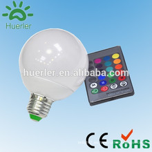 China fábrica de aluminio e27 e26 b22 10w llevado rgb iluminación rgb led bombilla e27 led bombilla blanco fresco