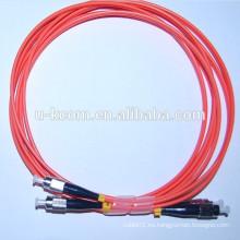 FC-FC MM Duplex Cable de conexión de fibra óptica