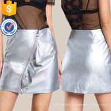 O кольцо Искусственная кожа юбка Производство Оптовая продажа женской одежды (TA3096S)
