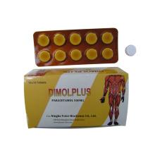 GMP Paracetamol Tablet 500mg zu verkaufen