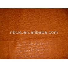 sofá em relevo tecido 100% poliéster ligado