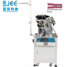 Vollautomatische Metall-Reißverschluss-Schiebemontagemaschine