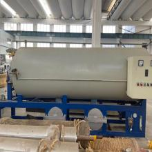 Non-woven vacuum cleaning furnace
