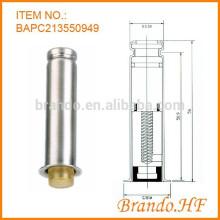 Colector de bolsa de polvo Válvula solenoide de impulsos de pulso Tubo de armadura de acero inoxidable para AC y DC