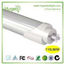 Vente chaude tube jizz conduit tube lumière LED T8 conduit Lampe fluorescente tube 3 ans de garantie