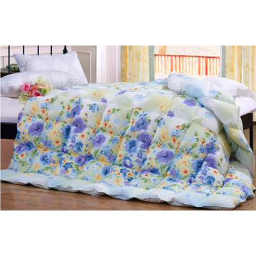 Factory Outlet Wholesale Double Bed Polyester Quilt F1830