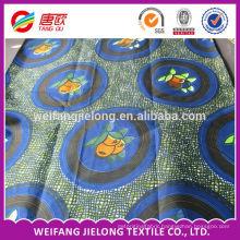 wholesale 100% Cotton Guaranteed Real Wax Prints Fabric in stock