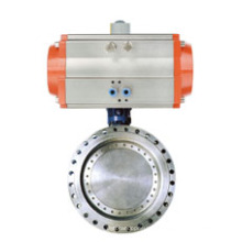 Pneumatic Flange Type Butterfly Valve