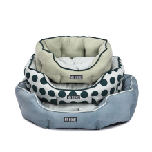 Home Essentials Safe And Secure Removable Plush Dog Beds Eco Friendly