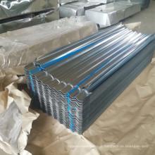 Calamina Chapa Lamina ondulada galvanizada/ Zinc Aluminio