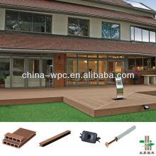 decking al aire libre de WPC