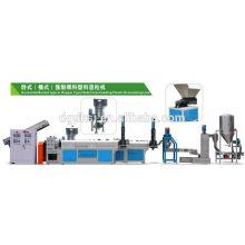 PE PP film bag two stage Plastic Recycling granulator machine SJ-140