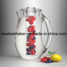 2.5L Acryl Infusion Pitcher mit Eis Core Tube
