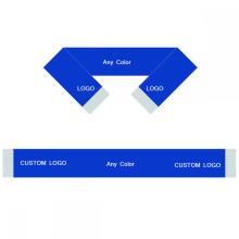 Lenço personalizado 15 * 150 cm Lenço personalizado da equipe de futebol Lenço dos fãs de futebol Lenço da bandeira do clube de futebol