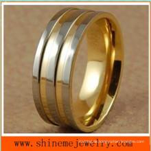 Shineme Schmucksachen 18k Gold Titan Körper Schmuck Ring (TR1822)