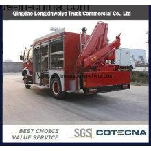 Camión de lucha contra el fuego del rescate de emergencia del motor diesel