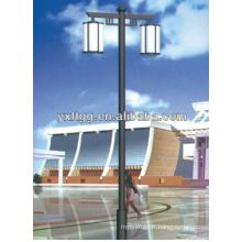 T-shaped acier galvanisé éclairage prix du poteau