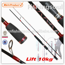 SPR043 Novo material SRF bravo equipamento de pesca Spinning Rod Pesca