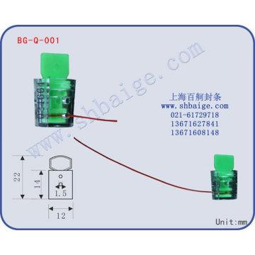 plastic meter seal BG-Q-001