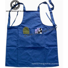 Quality Customized Cotton Blank Kitchen Artist Apron with Pocket