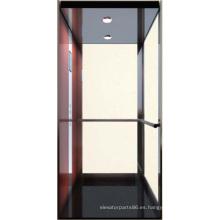 Pequeño hogar ascensor, ascensor de bajo costo, sin cuarto de máquinas