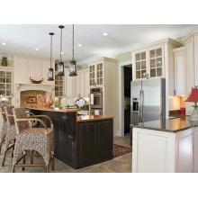 Custom Home Oak Solid Wood Kitchen Cabinets