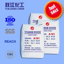 Ausgezeichnete optische Eigenschaften Anatase Titandioxid für Keramik und Emaille