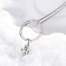925 collar de plata de la cruz de plata tailandesa del collar masculino The Vampire Diaries