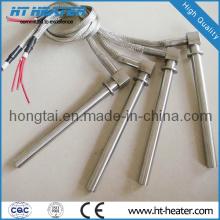 Calentador de cartucho eléctrico de acero inoxidable