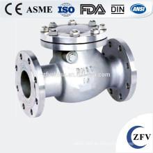 Precio de fábrica ANSI 150LB ensanchó válvula de cheque de oscilación