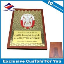 Benutzerdefinierte MDF Wand dekorieren hölzerne Plakette Medaille Trophäe