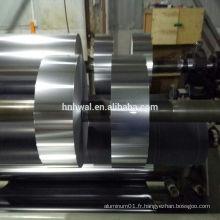 Feuille d'aluminium souple 8011-HO pour produits d'air