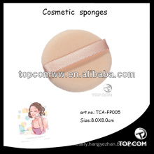 facial make up sponge/cosmetic power puff/low price make up puff