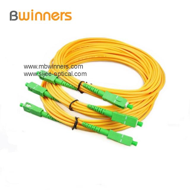 Sc Apc Sc Apc Simplex Sm 2 0mm Fiber Optic Patch Cord