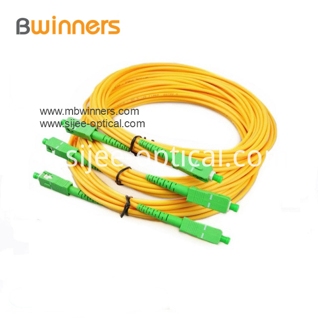 Sc Apc Sc Apc Simplex Sm 2 0mm Fiber Optic Patch Cord