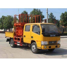 Dongfeng 4x4 new scissor lift truck for sale