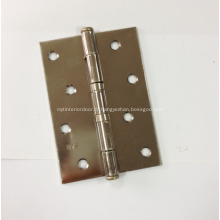 Charnières en acier inoxydable pour porte en bois