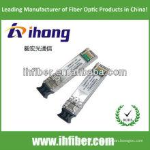 CWDM SFP + BX 10G 1270nm / 1330nm 40KM qualidade 16dB DDM de alta qualidade
