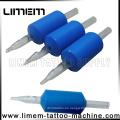 25 mm con punta blanca Tattoo Grip desechable en venta caliente