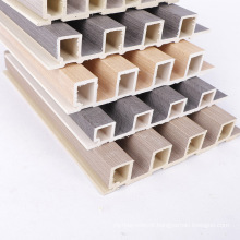Morden design 170x25mm cladding board easy installation wood grain wood plastic composite WPC wall panel on sale