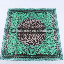 2014 nuevos productos verde paisley leopardo moda moda bufandas mujer