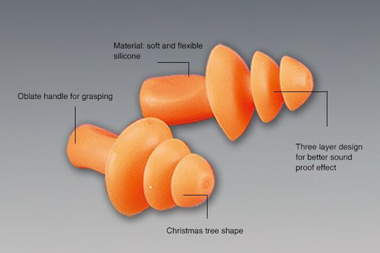 Silicone Wireless Earplug