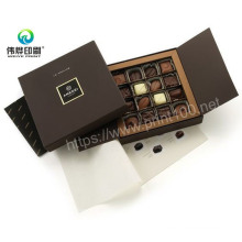 Luxury Custom Logo Printing Empty Chocolate Paper Gift Packing Packaging Chocolate Box
