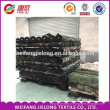 Tela de impresión de camuflaje tela 108 tc tc 65/35 20 * 16 tela de camuflaje 108 108 para el ejército 190gsm hasta