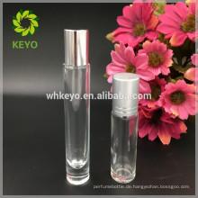 hohe qualität 10 ml roller ball flasche ätherisches öl flasche für kosmetische öl flasche