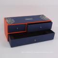 Kundengebundener Luxus-Rechteck-Pappschmuck-Geschenkbox-Fach-Kasten