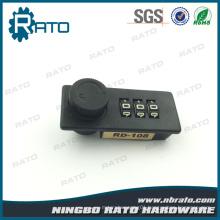 Cheap Small Combination Plastic Lock