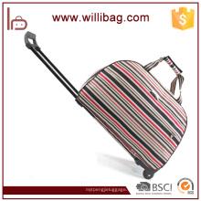 Bolso elegante colorido del viaje de la carretilla Bolso barato chino de la bolsa de deporte