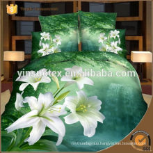 Narcissus bedding set ,3D printed bedding set ,disperse printed